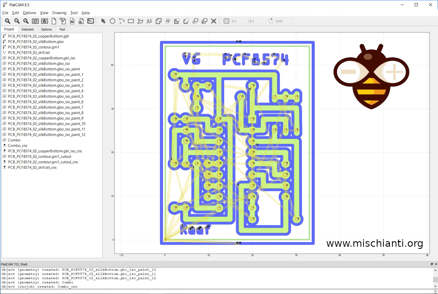 Design and mill PCB: Easy and Cheap (FlatCam) – Part 3