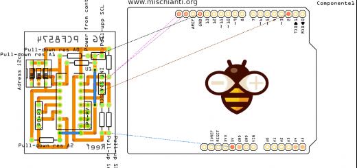 PCF8575 i2c 16 bit digital I/O expander – Renzo Mischianti