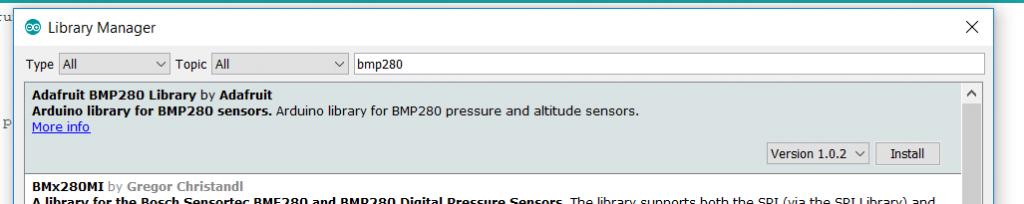 Temperature humidity sensors comparison (Code configuration